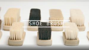 靴ブラシの使い方