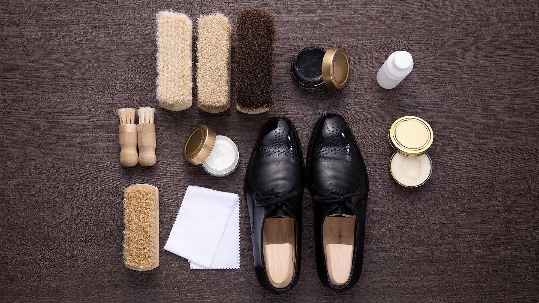 靴磨きに必要な道具